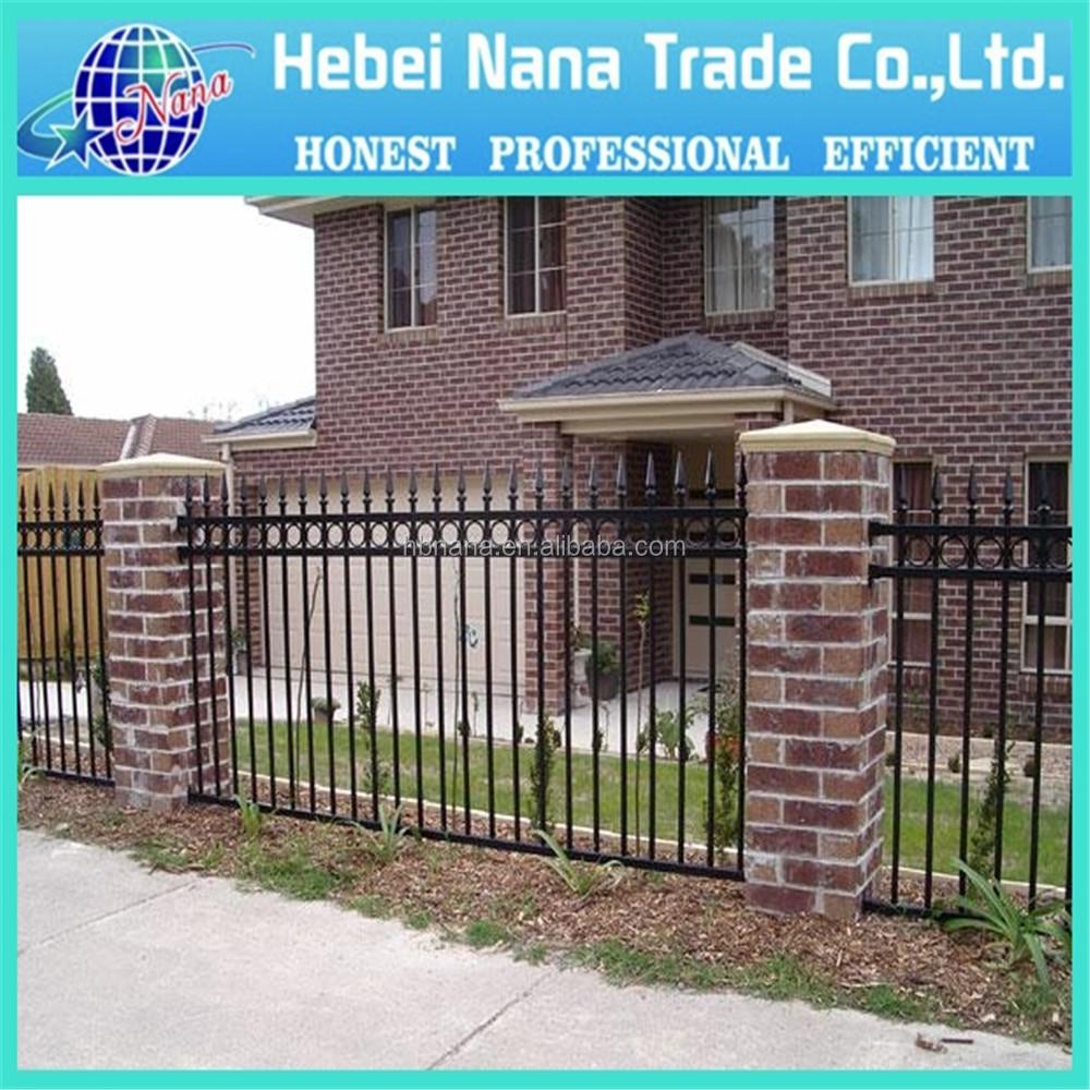 modern no dig corrugated galvanized metal fence panel