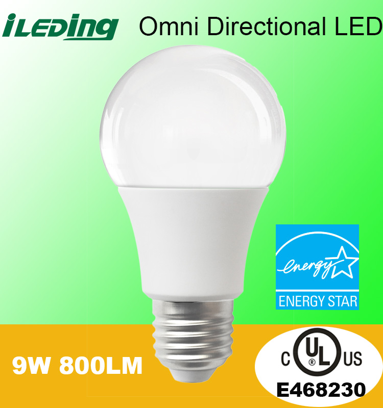 Energy star UL Dimmable Omni Directional A19 LED <strong>Bulb</strong>