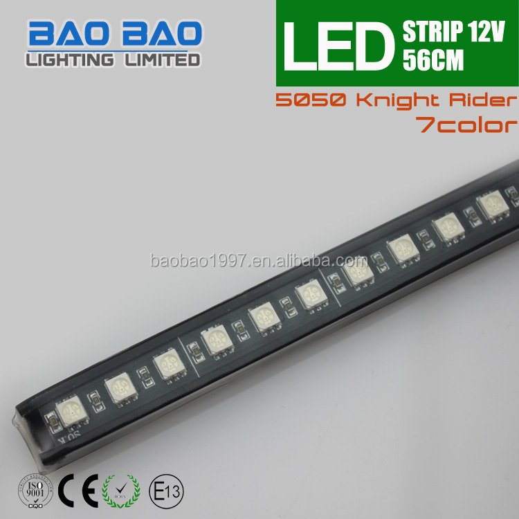 Factory Wholesale Rgb 5050 56cm Car Led Flash Knight Rider Light ...