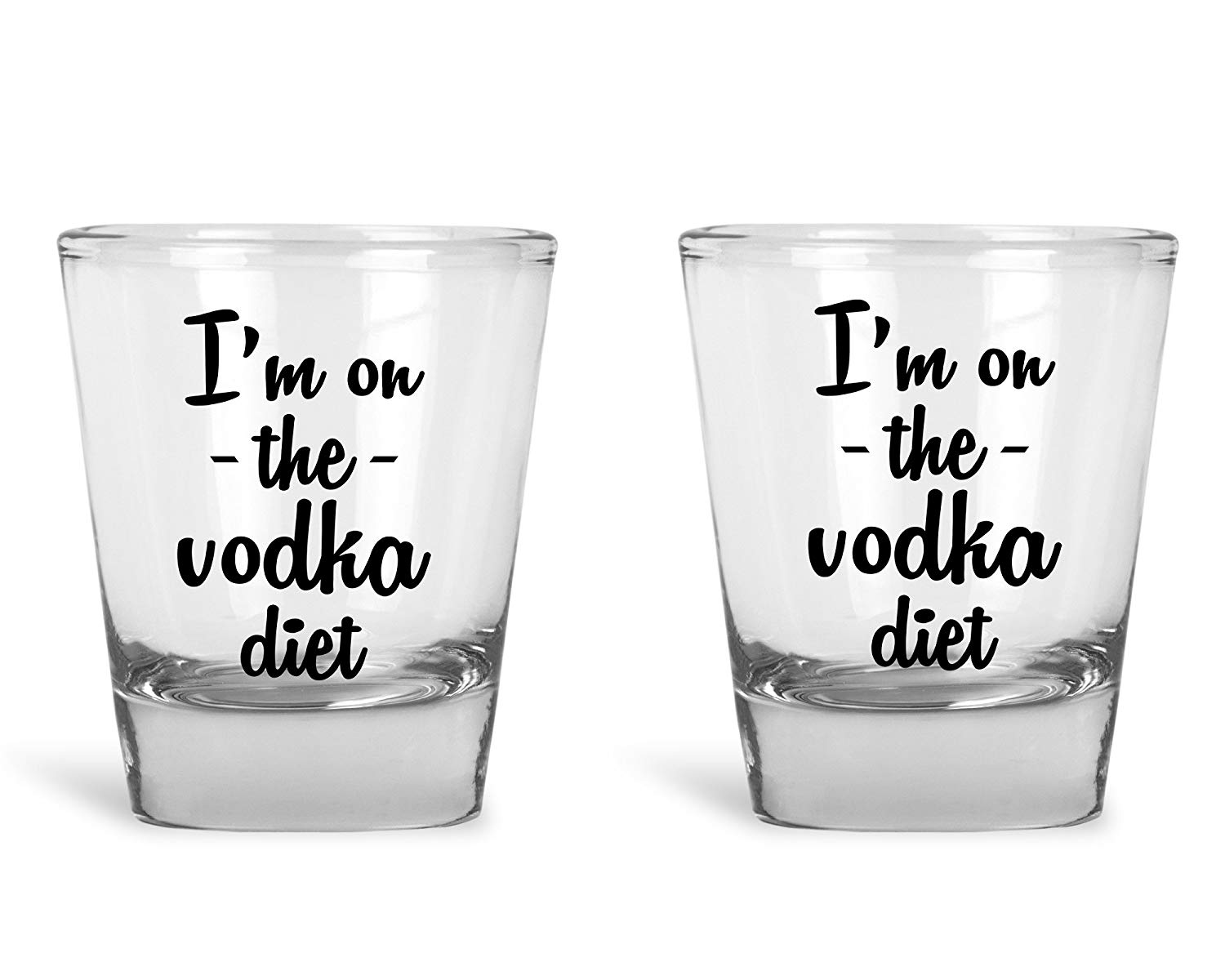 Cheers To What I Wont Remember Shot Glass Set of 2 Party Drinking Clear Shot Glass Set Shot Glasses for Crazy Partys and Friends