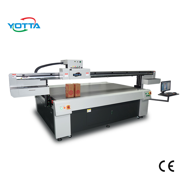 Industrial head UV Led Flatbed Printer for Edges of Book / wood box