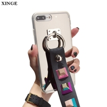 Rivet Stylish Mobile Phone Back Cover Case For Iphone6