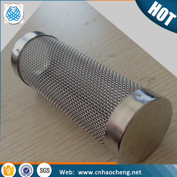 Aquarium tank accessories stainless steel fish shrimp net cap filter guard