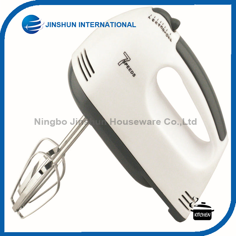 Portable Electric Hand Mixer Eggbeater with 7 Speed