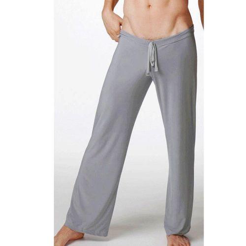 Spor Erkek günlük pantolon Salonu Gevşek Pantalons Sandıklar Ev yoga fitness pantolonu