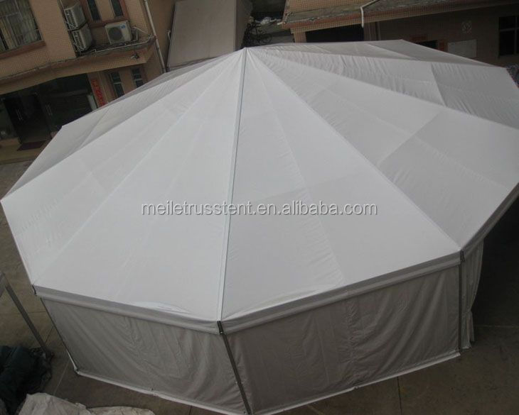 Aluminum Frame PVC wall 10m Decagonal Events Pagoda Tent Dome Party Tent