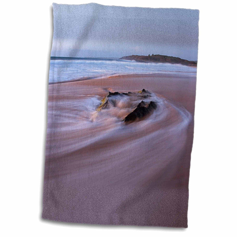 3dRose Danita Delimont - Charles Gurche - Beaches - USA, Hawaii, Molokai, surf - 12x18 Towel (twl_189645_1)