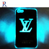 Star Sense Flash light Up Case Cover For iPhone 5 LED LCD Color Hard Plastic Shell Back Changed Gift KDLPC033