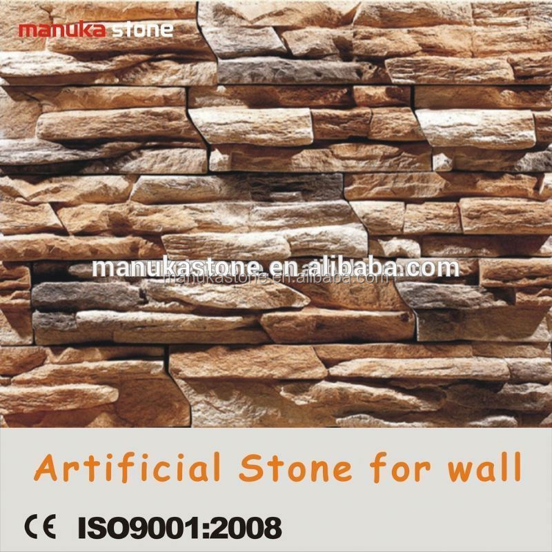 Guangzhou pu ligero panel decorativo de pared de piedra de - Panel decorativo piedra ...
