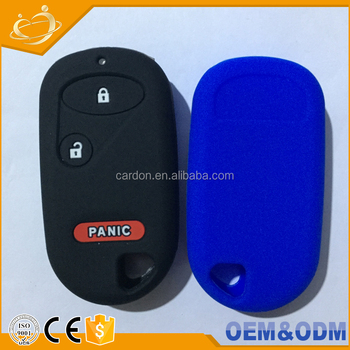 Factory Price Custom Made Car Key Case 2 1 Button Silicone Remote