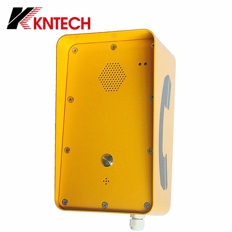 KNZD-09A VoIP intercom vandal resistant back mount IP intercom vandal proof telephone