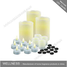 hot sale flameless pillar scented LED candle