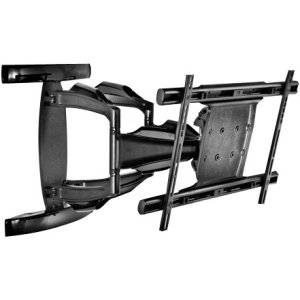 """Peerless Corrosion Resistant Full-Motion Plus Wall Mount Esa763pu - Mounting Kit ( Wall Plate, Articulating Arm ) For Lcd / Plasma Panel ( Tilt & Swivel ) - Gloss Black - Screen Size: 37"""" - 63"""" - Mounting Interface: 600 X 400 Mm - Indoor / Outdoor """"Product Type: Supplies & Accessories/Tv & Flat"""