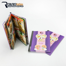 Office recycled handmade paper folder designs with elastic band