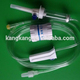 Infusion set- with micro flow regulator type