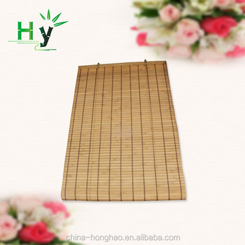 floding painted bamboo window blinds for home decoration