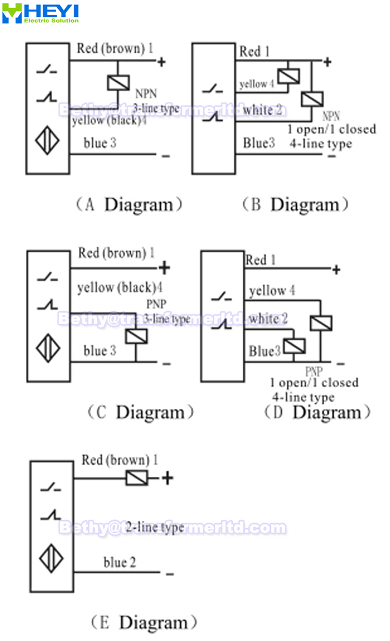 5 wire proximity sensor wiring diagram   38 wiring diagram