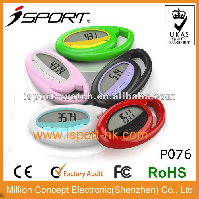 Digital Promotion High Quality Recommended Promotional Gift Steps Single Smallest Pedometer