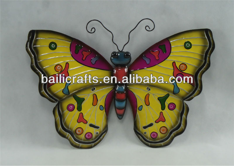 Nice Butterfly Wall Decor Metal Pictures - Wall Art Design ...