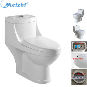 M-7011 Restroom one piece water save flush toilet bowl