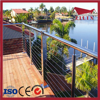 Diy Cable Railing / Wire Rope Railing Balustrade With Stainless ...