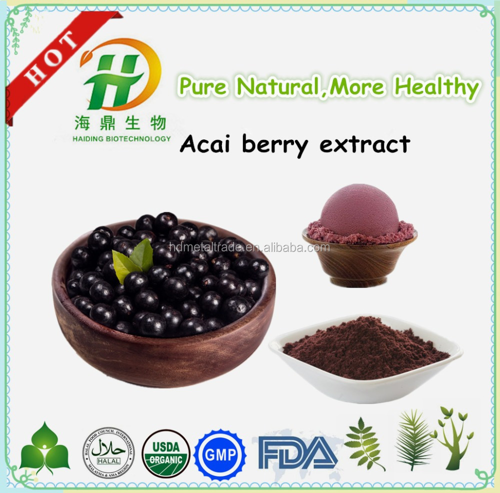 Good Taste Acai Berry Juice , Acai Berry Powder for Ice cream , hot sale health food
