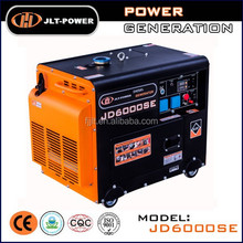 Top quality professional China supplier of open/silent type 5kva silent diesel generator set