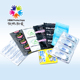 Female male ultra thin polyurethane condom with transparent latex material
