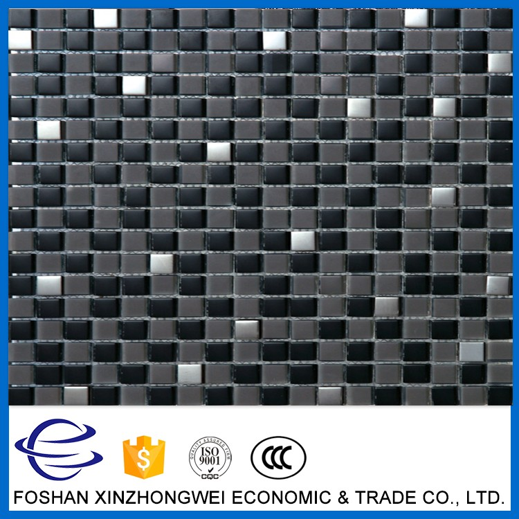 MY3163 Hot foshan iridescent glass mosaic tile price