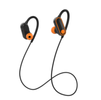 Portable mp3 Neckband Headphone With Mic Sport Wireless Earphone