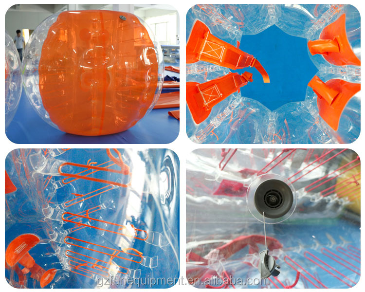 inflatable bubble soccer