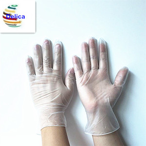 Disposable Cheaper Vinyl Gloves White Transparent Blue Vinyl Examination Gloves Manufacturer For Medical And Food