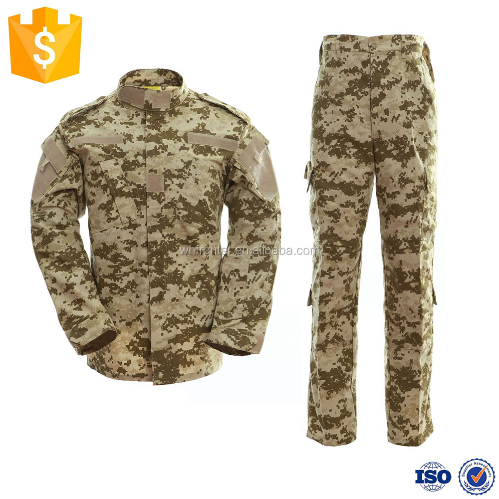 Competitive prices desert camouflage Russian military uniform