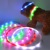 LED USB Rechargeable Dog Shock Collar, USB Rechargeable LED Flashing Dog Collar For Fun