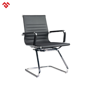 Modern Black Ergonomic Leather/PU Meeting Room Furniture Conference Office Chair