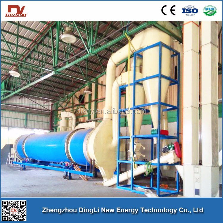 Grape Wine Raw Material Cork Drum Dryer for Algeria Wine-making Industry