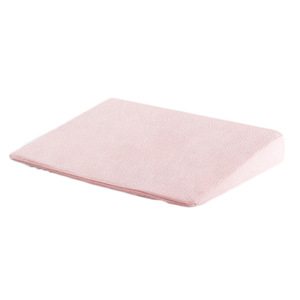 Memory Foam Filling and 100% Cotton Material Baby Crib Wedge Pillow