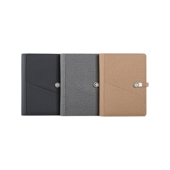 Professional personal custom inner pages Power bank blank usb notebook