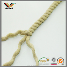 8mm Garment cap shorts colored colored kuralon braided flat cotton rope