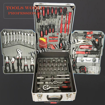 186 tool set hand tools set with aluminium case packing craftsman ...