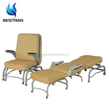hospital Easy cleaning foldable patient accompanying medical accompany chair hospital bed appliances