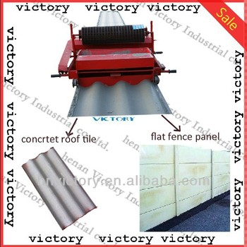 Clay Roof Tile Press Machine Made In China Designed For You