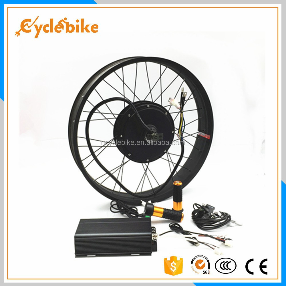 CE hot sellling 72v 5000w bicycle electric motor conversion kit