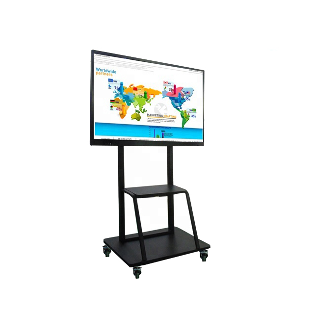 65&quot; 75&quot; 85&quot; Window 10 OS <strong>all</strong> ine one PC industrial touch screen portable interactive whiteboard for school teaching