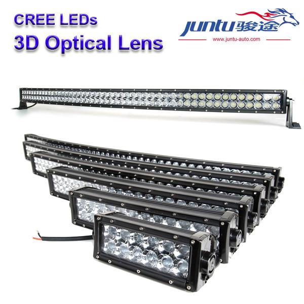 """New 4d Led Curved Light Bar 50"""" 288w Led Headlight Light Bar For ..."""