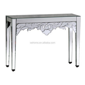 Luxury Venetian Mirrored Console Table