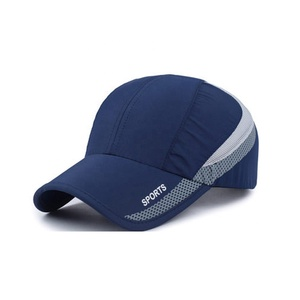 465ce0a41ab 100% polyester microfiber sports cap male baseball caps dryfit running  promotional sports baseball