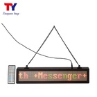 Electronic led scrolling message board moving sign mini led displays
