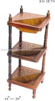 Wooden Corner TableWood Corner TableCorner Table FurnitureNook