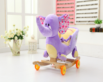 Phenomenal 60 32 55Cm Beautiful Customized Stuffed Plush Elephant Mouse Animal Rocker Chair Toy With Wooden Basemusic Buy Plush Elephant Rocker Plush Mouse Gmtry Best Dining Table And Chair Ideas Images Gmtryco